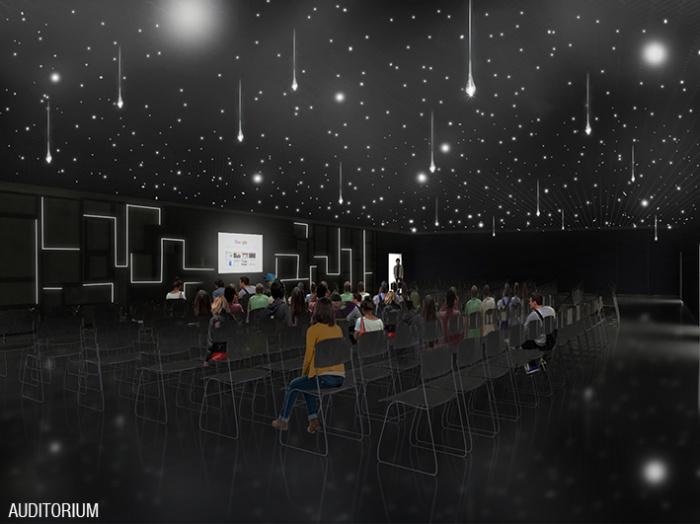 Aménagement du showroom et d un auditorium de bureaux à paris