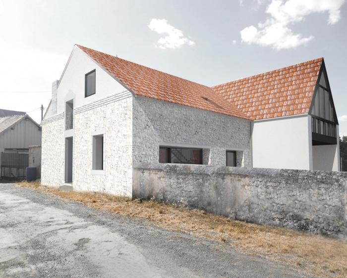 Transformation d'une Grange en Maison Individuelle