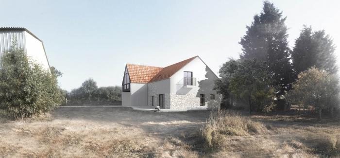 Transformation d'une Grange en Maison Individuelle : 02