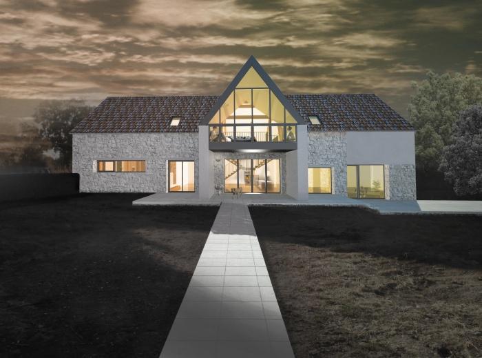 Transformation d'une Grange en Maison Individuelle : 03