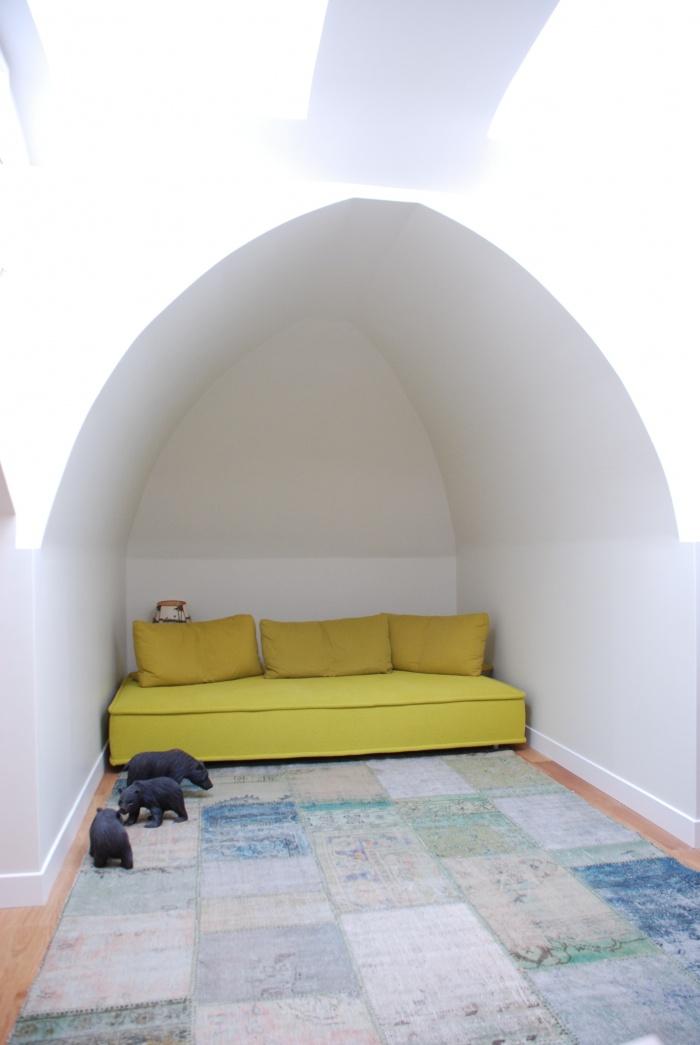 petit salon sous les toits