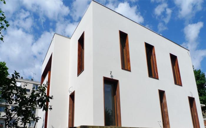 architectes maison sur pilotis thiais. Black Bedroom Furniture Sets. Home Design Ideas