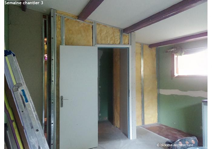RÉNOVATION MAISON VANVES : Semaine chantier 3