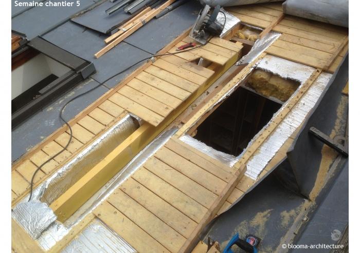 RÉNOVATION MAISON VANVES : Semaine chantier 5