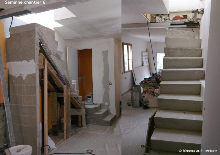 RÉNOVATION MAISON VANVES : Semaine chantier 6