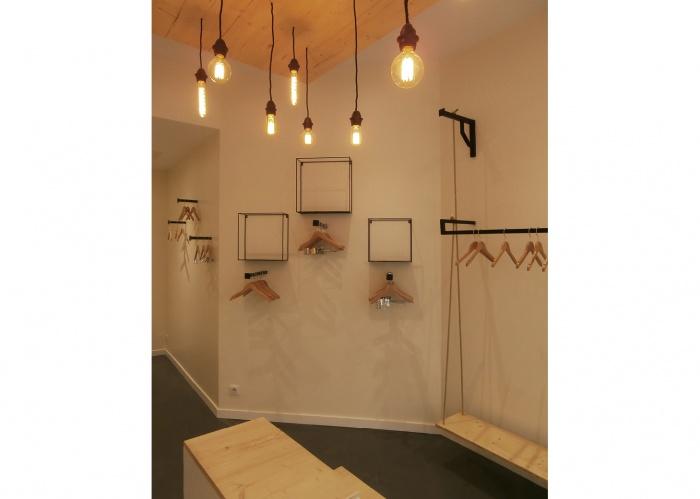 Rénovation Boutique rue Saint Dominique : WEB_Ropa_150dpi_mur biais