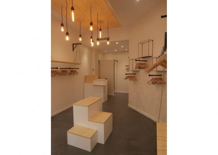 Rénovation Boutique rue Saint Dominique