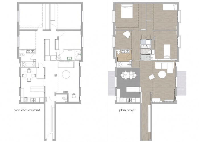 RÉNOVATION D'UN APPARTEMENT A BOULOGNE : WEB_Boulogne_150dpi_plans avant apres