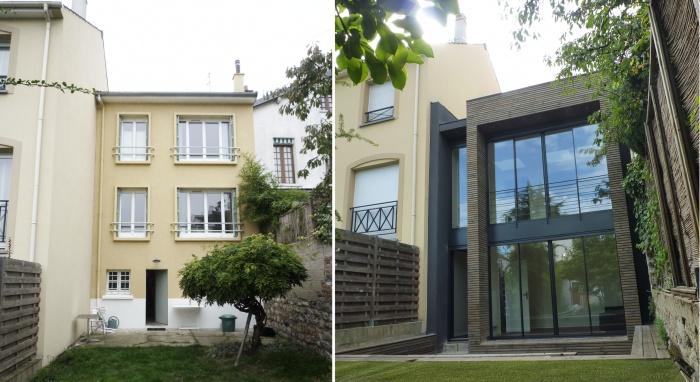 Architectes trouver votre architecte loft - Renovation petite maison de ville ...