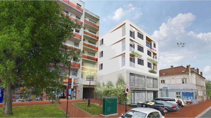Centre de santé et 8 logements - Gagny
