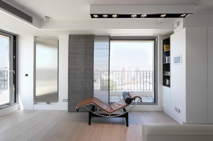 Restructuration complète d'un appartement sur les toits de Paris