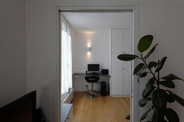restructuration d 39 une petite surface paris une. Black Bedroom Furniture Sets. Home Design Ideas