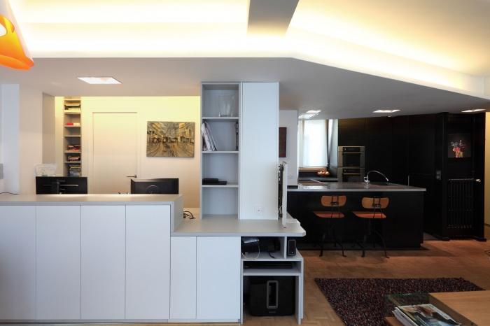 Restructuration d'un appartement familial : 09