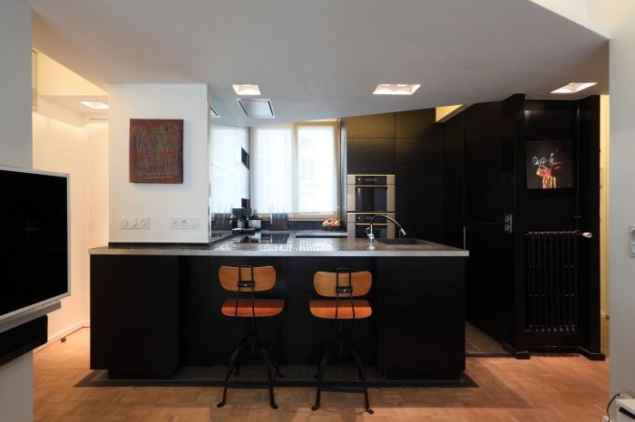 Restructuration d'un appartement familial : 07