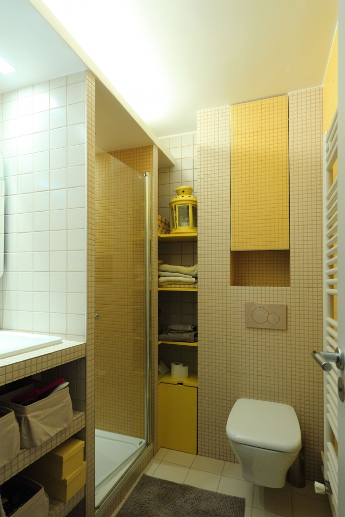 Restructuration d'un appartement familial : 03