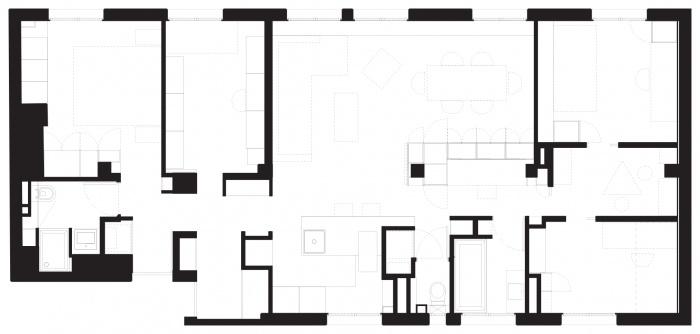 Restructuration d'un appartement familial : plan-laghouat-100
