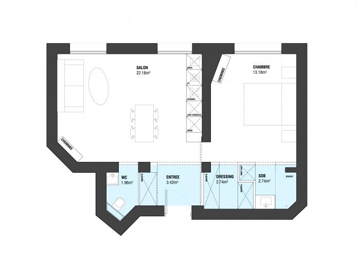 appartement 2 -