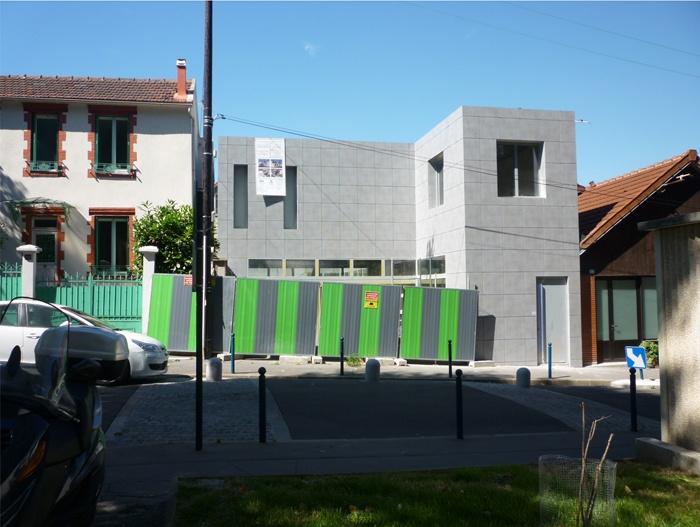 Maison contemporaine à Pantin (93)