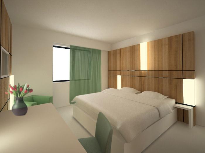 Projet chambre d'hôtel