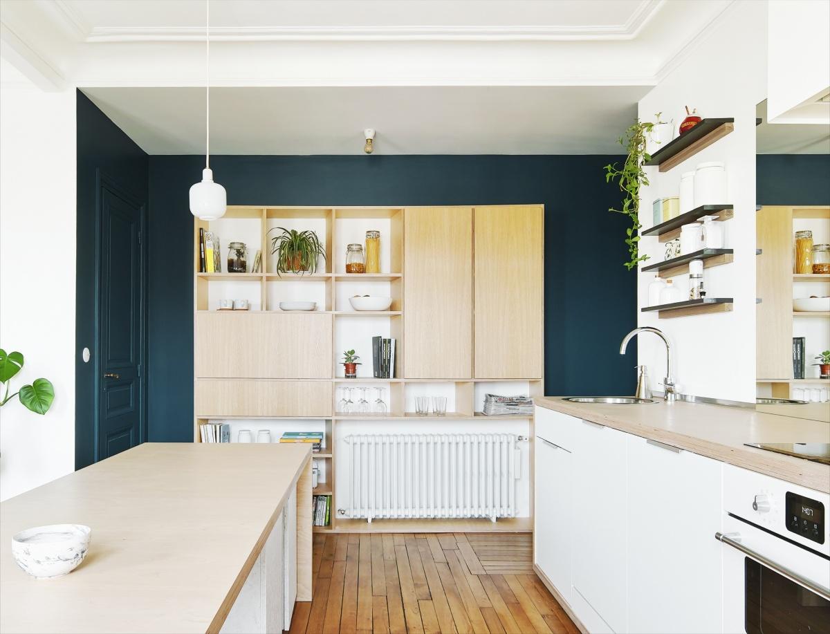 Restructuration et rénovation d'un appartement : 3 rue Hector Malot v2-2153 V4