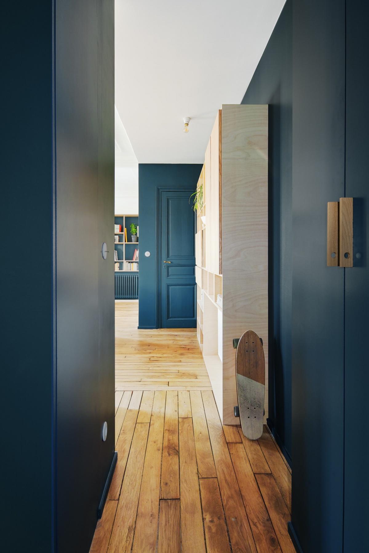 Restructuration et rénovation d'un appartement : 5 rue Hector Malot v2-2186 2