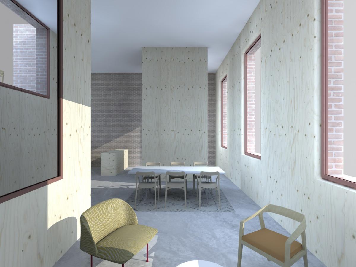 Surélévation pour création d'un duplex avec terrasse : Cam_0 am