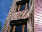Extension en bois HQE