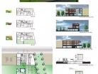 Conception d'un logement collectif � Roubaix.