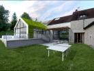 oldXgarden / Extension maison et piscine couverte 77