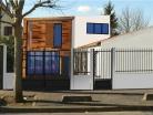 Surélévation, extension et réaménagement d'une maison