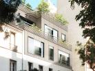 Surélévation d'un immeuble parisien