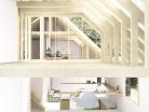 Transformation d'une grange en habitation, transformation de la toiture