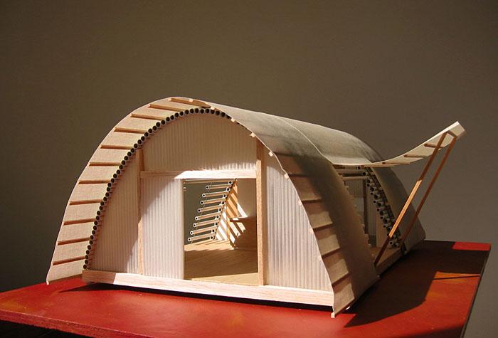 maquette maison en carton bricolage ventana blog. Black Bedroom Furniture Sets. Home Design Ideas