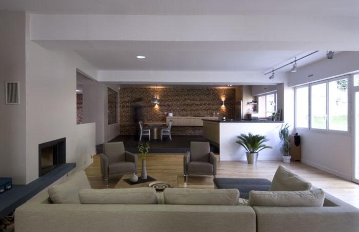 am nagement d 39 un ancien plateau vide de 210 m viroflay 78 viroflay une r alisation de. Black Bedroom Furniture Sets. Home Design Ideas