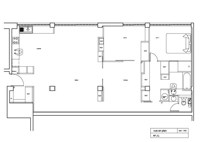 Architectes am nagement d 39 un loft dans une ancienne imprimeri - Construction d un loft ...