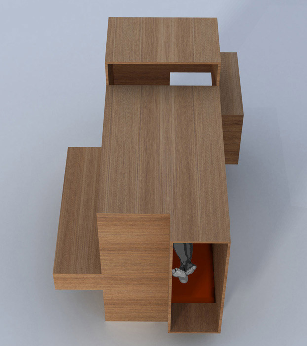 cabanne en bois